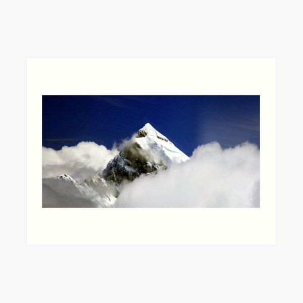 """Aoraki, """"Cloud Piercer"""". Art Print"""