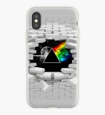 The Dark Side of The Wall iPhone Case