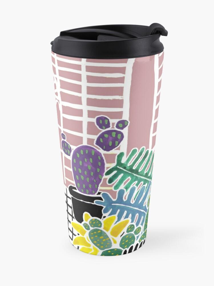 Alternate view of Cacti & Succulent Greenhouse Travel Mug