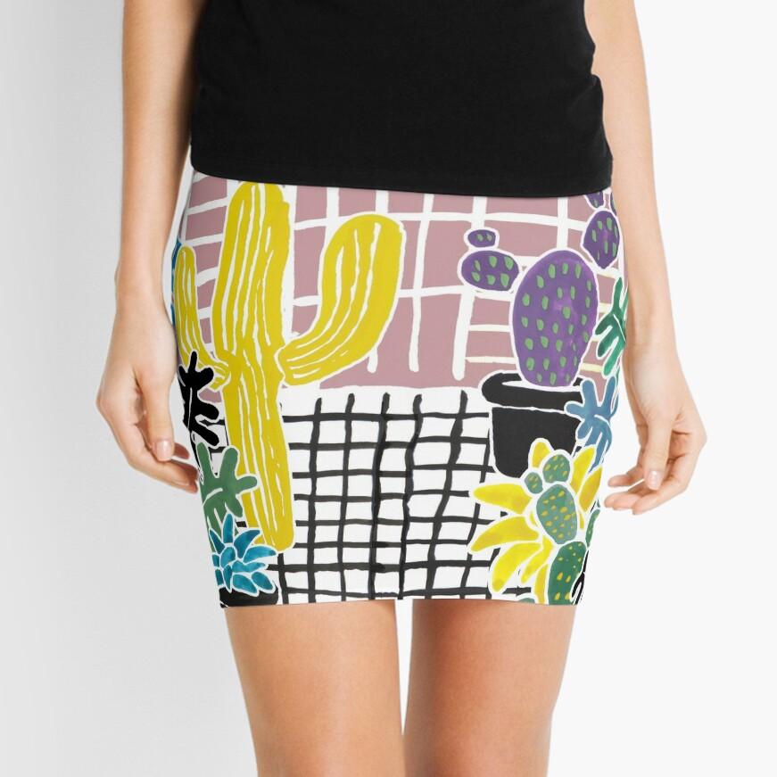 Cacti & Succulent Greenhouse Mini Skirt