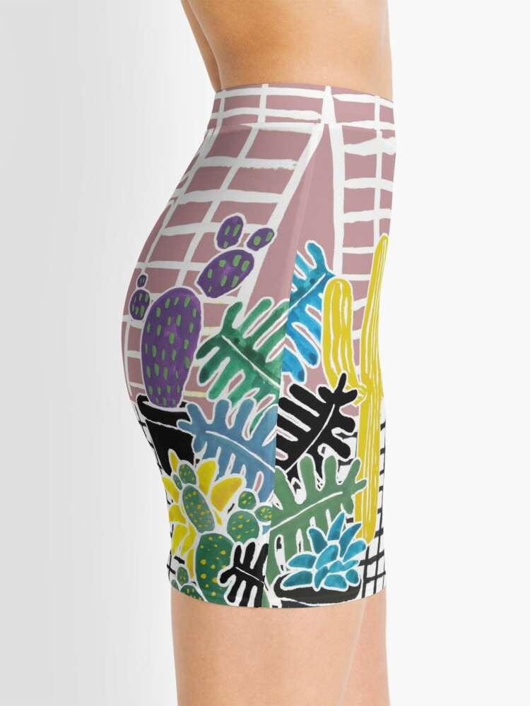 Alternate view of Cacti & Succulent Greenhouse Mini Skirt