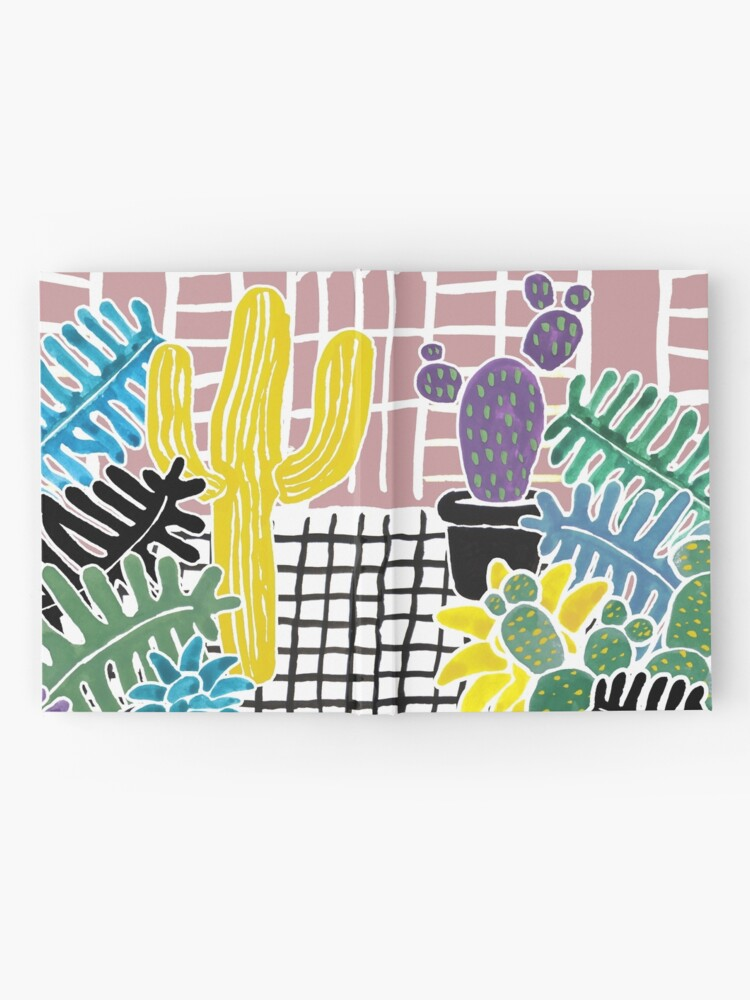 Alternate view of Cacti & Succulent Greenhouse Hardcover Journal