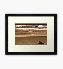 Who Said That Quality Life Is Money??? Framed Print