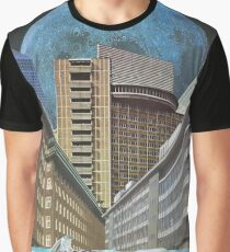 Urban Transportation Graphic T-Shirt