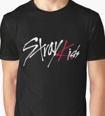 Stray Kids logo Graphic T-Shirt