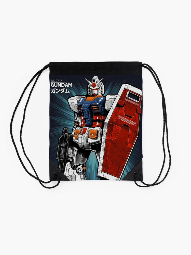 Alternate view of Gundam Drawstring Bag