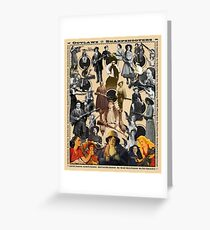 Outlaws and Sharpshooters Greeting Card