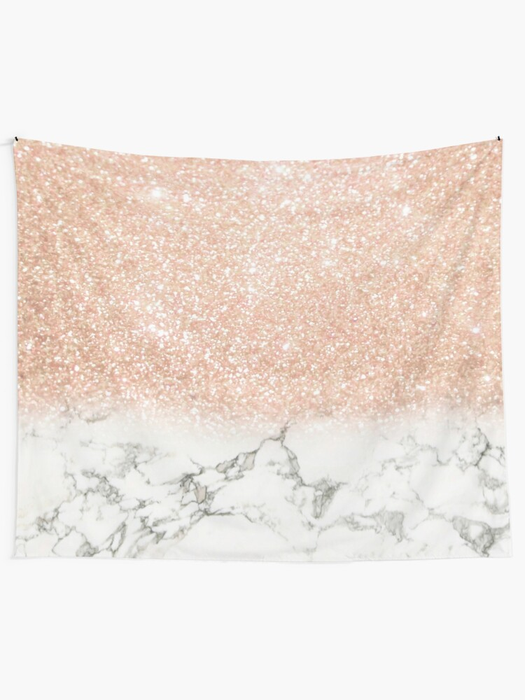 Alternate view of Marble & Stardust Ombre Tapestry