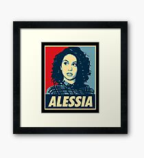 alessia cara - singer acoustic Framed Print