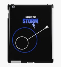 Survive The Storm Blue iPad Case/Skin
