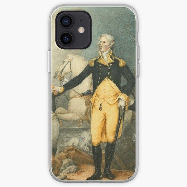 Trumbull, John (1756-1843) - George Washington 1900 - Portrait of Washington iPhone Soft Case
