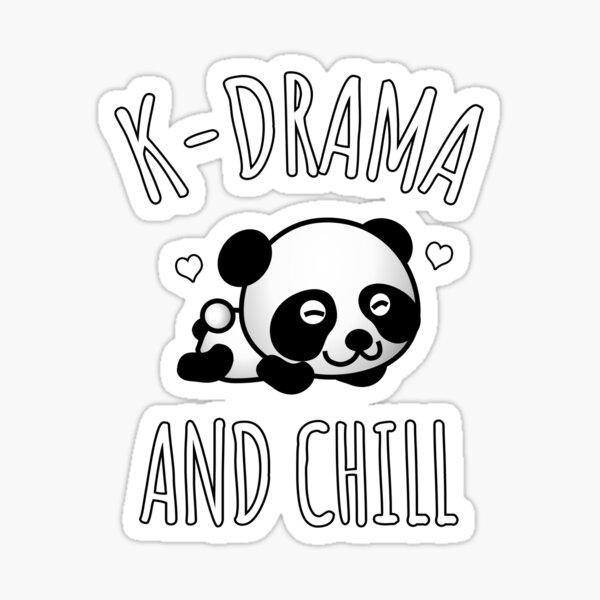 K-Drama And Chill Sticker