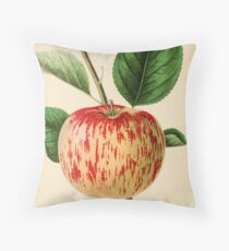 Canadian Horticulturalist 1888-96 - Haas Apple Throw Pillow