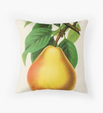 Canadian Horticulturalist 1888-96 - Howell Pear Throw Pillow