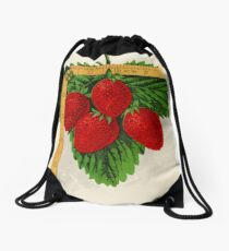 Canadian Horticulturalist 1888-96 - Parker Earle Strawberries Drawstring Bag