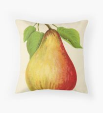 Canadian Horticulturalist 1888-96 - Pear Throw Pillow