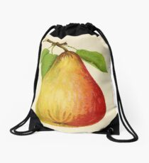 Canadian Horticulturalist 1888-96 - Pear Drawstring Bag