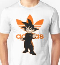 Orange Adidbas Goku DBZ Slim Fit T-Shirt