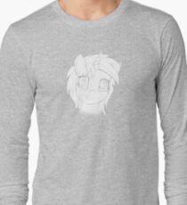 Vinyl Scratch sketch - Design 1 - Long Sleeve T-Shirt