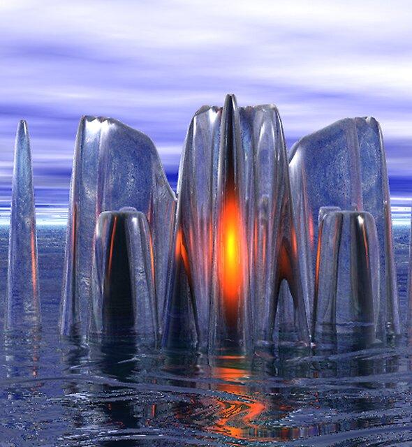 Warm Crystal by Hugh Fathers