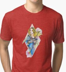 Lux, Lady Of Luminosity Tri Blend T Shirt