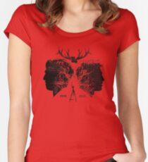 True Partners Women's Fitted Scoop T-Shirt