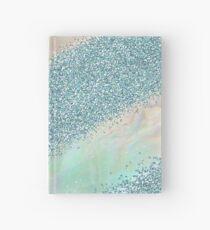 Opal unicorn rainbow Hardcover Journal