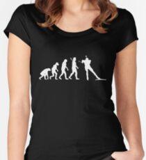 Biathlon Women's Fitted Scoop T-Shirt