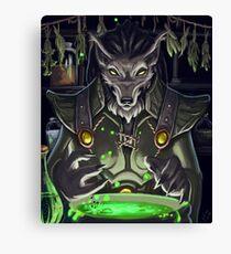 Worgen Alchemy Canvas Print