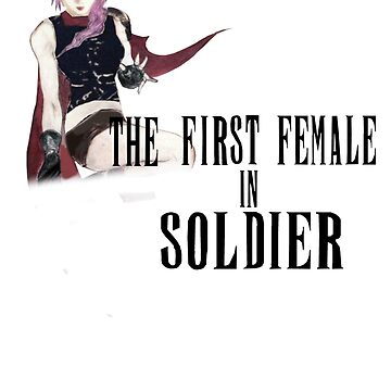 The First Female in Soldier logo by FFSteF09