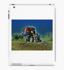A Man and his Tractor iPad Case/Skin