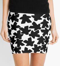 Meeple are people too - black Mini Skirt