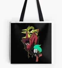 Conjoined Canines Tote Bag