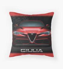 Alfa Romeo Giulia Quadrifoglio  Throw Pillow