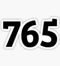 765 Sticker