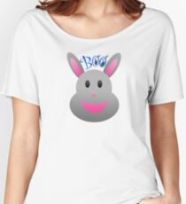 BOO Bunny of disapproval Women's Relaxed Fit T-Shirt