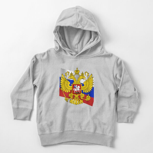 Российский флаг, Флаг российской федерации, Russian flag, Flag of the Russian Federation, Russia, Russian, flag, Russian Federation Toddler Pullover Hoodie