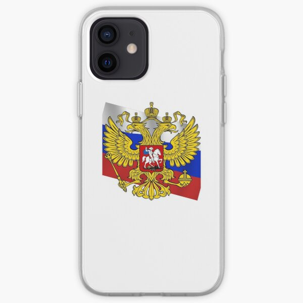Российский флаг, Флаг российской федерации, Russian flag, Flag of the Russian Federation, Russia, Russian, flag, Russian Federation iPhone Soft Case