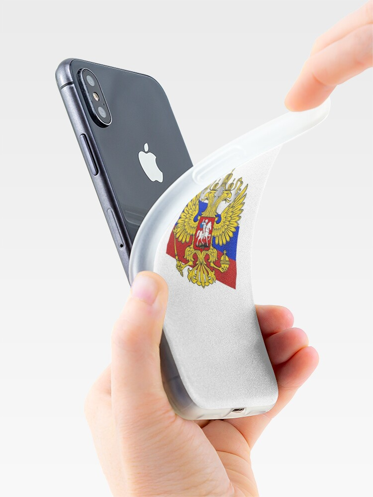 Российский флаг, Флаг российской федерации, Russian flag, Flag of the Russian Federation, Russia, Russian, flag, Russian Federation: iPhone Case & Cover