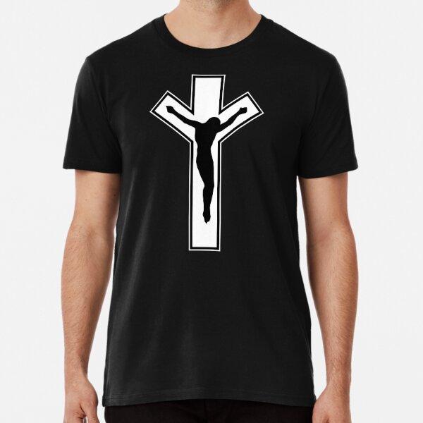 Cross (in white) Premium T-Shirt