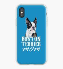 Boston Terrier Hundemutter iPhone-Hülle & Cover