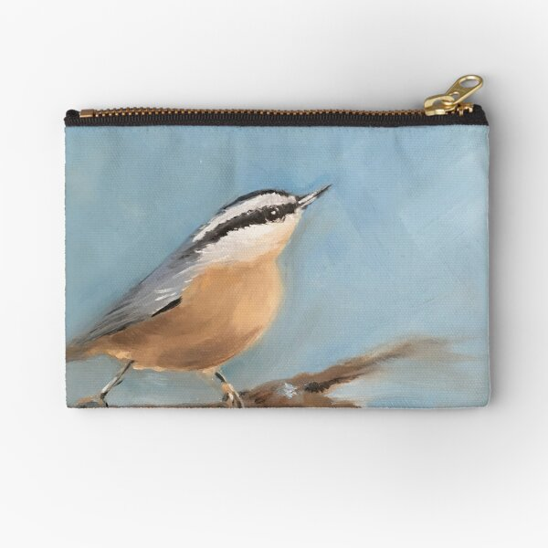 The Nuthatch Zipper Pouch