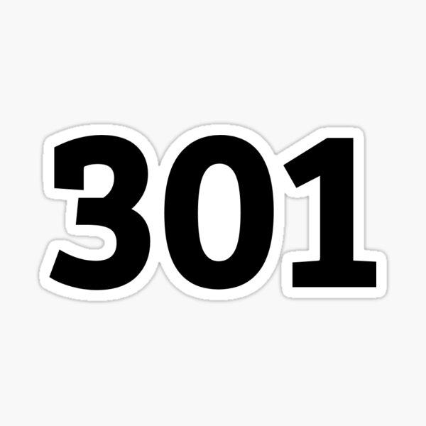 301 Sticker