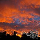 sunset at my home ll by LoreLeft27