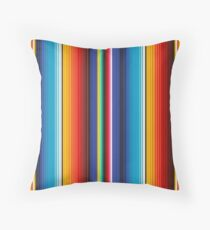 Mexican vintage pattern Throw Pillow