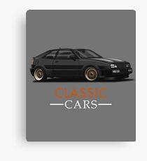 Corrado & quot; Classic Cars & quot; Canvas Print