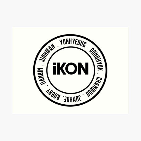 iKON OT7 member Art Print
