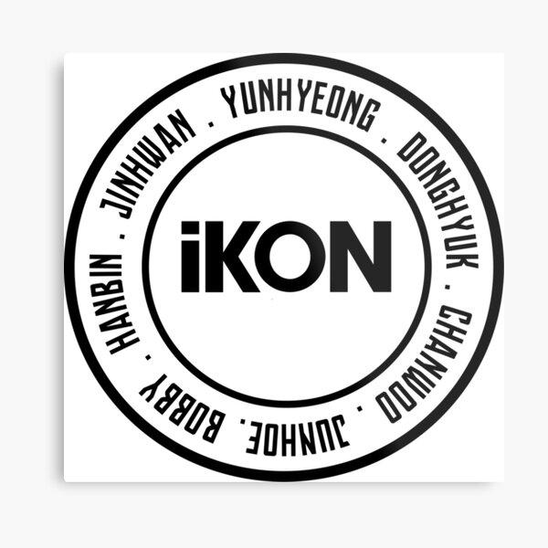 iKON OT7 member Metal Print