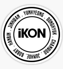 iKON OT7 member Sticker