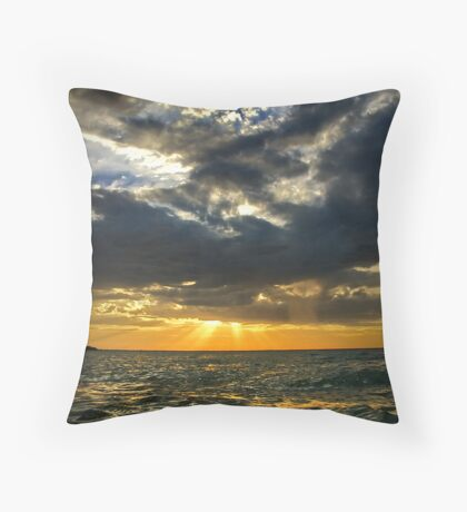 My sunset Throw Pillow